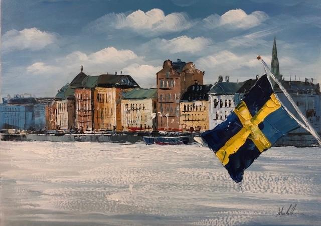 stora tavlor stockholm