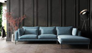 Soffa med snygg belysning från Affordable Design